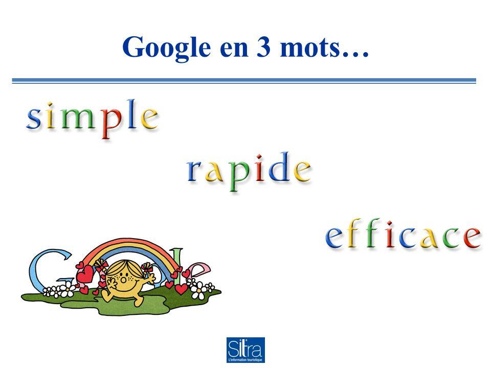 Google en 3 mots…