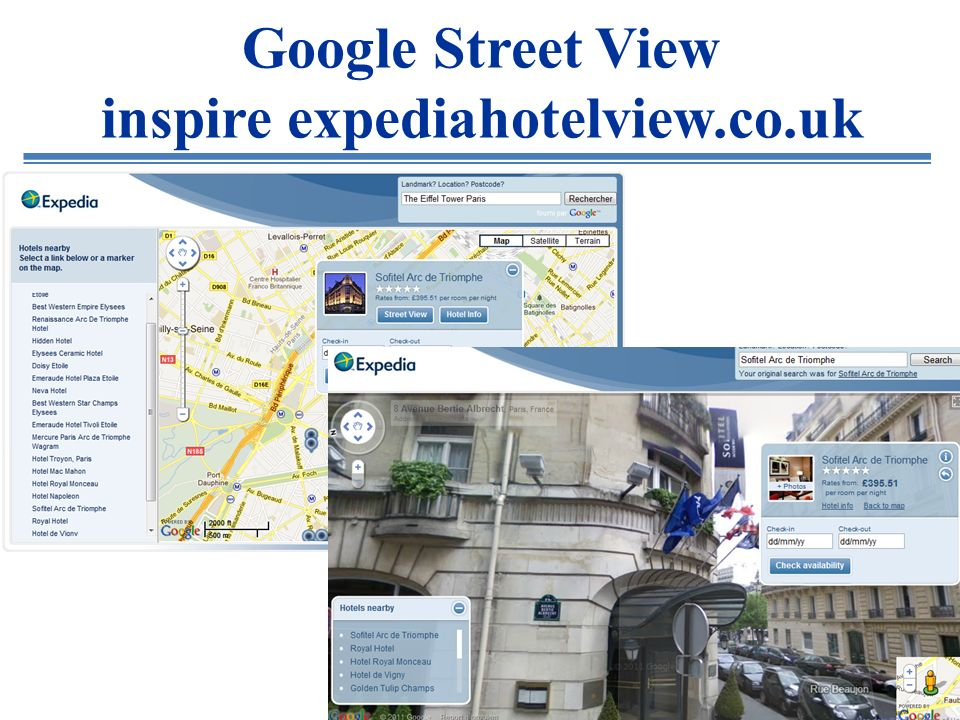 Google City Tours sur le point de non-retour !