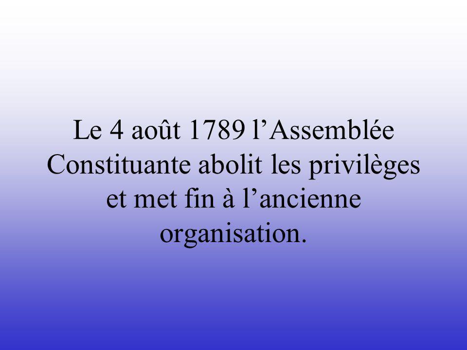 Pendant lété 1789 il y avait beaucoup de violence en France
