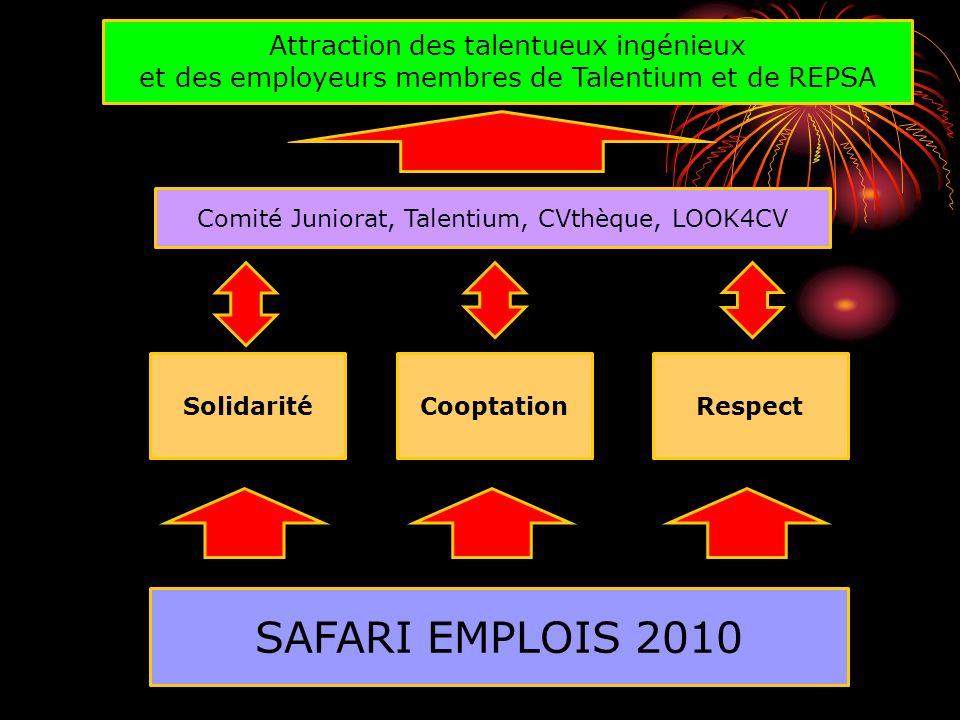 Les cinq éléments du levier du SAFARI EMPLOIS 2010 La pensée systémique : Permet de comprendre le gros bon sens du SAFARI.
