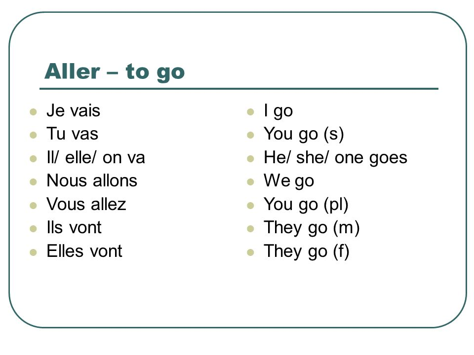 Try and decide which verb to use.