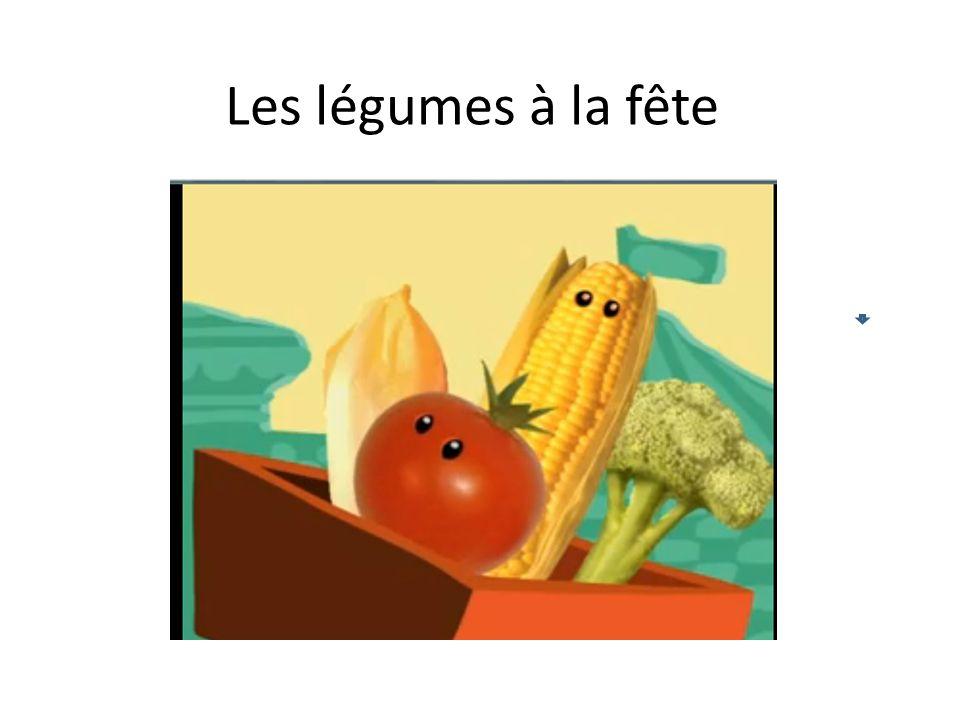 Les légumes à la fête