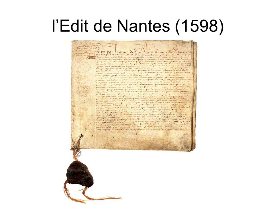 IEdit de Nantes (1598)