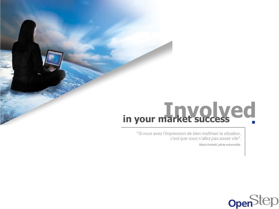 Involved in your market success