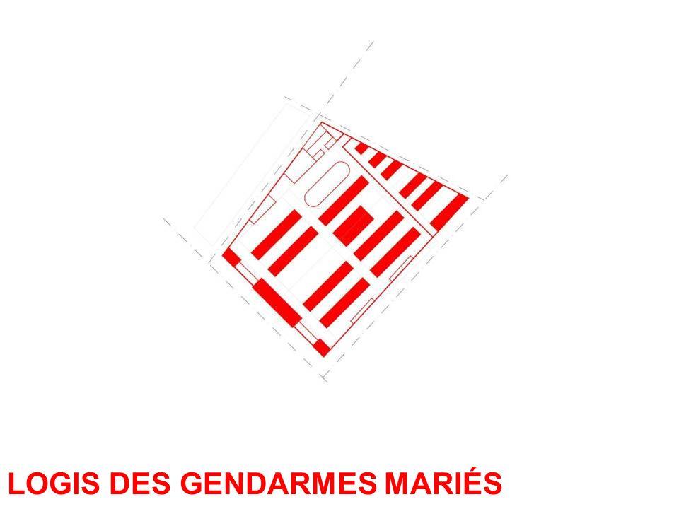 LOGIS DES GENDARMES MARIÉS