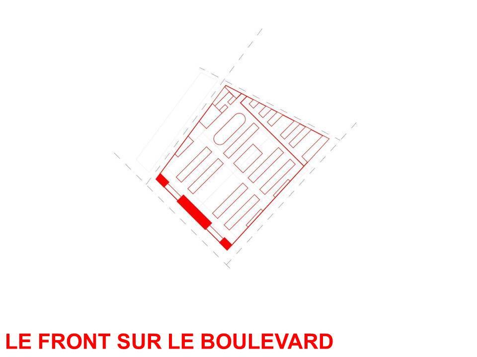 LE FRONT SUR LE BOULEVARD