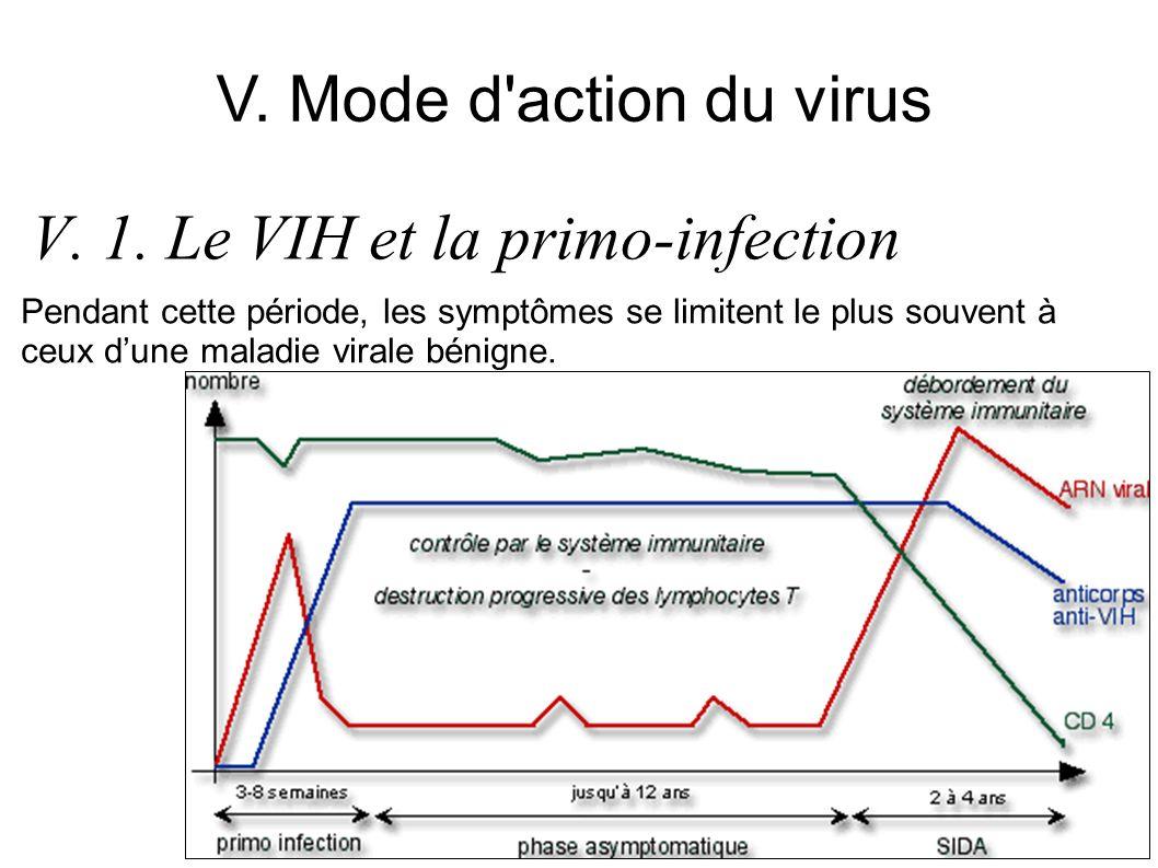 Une enzyme virale, la transcriptase inverse, transcrit lARN viral en ADN dans les cellules infectées.