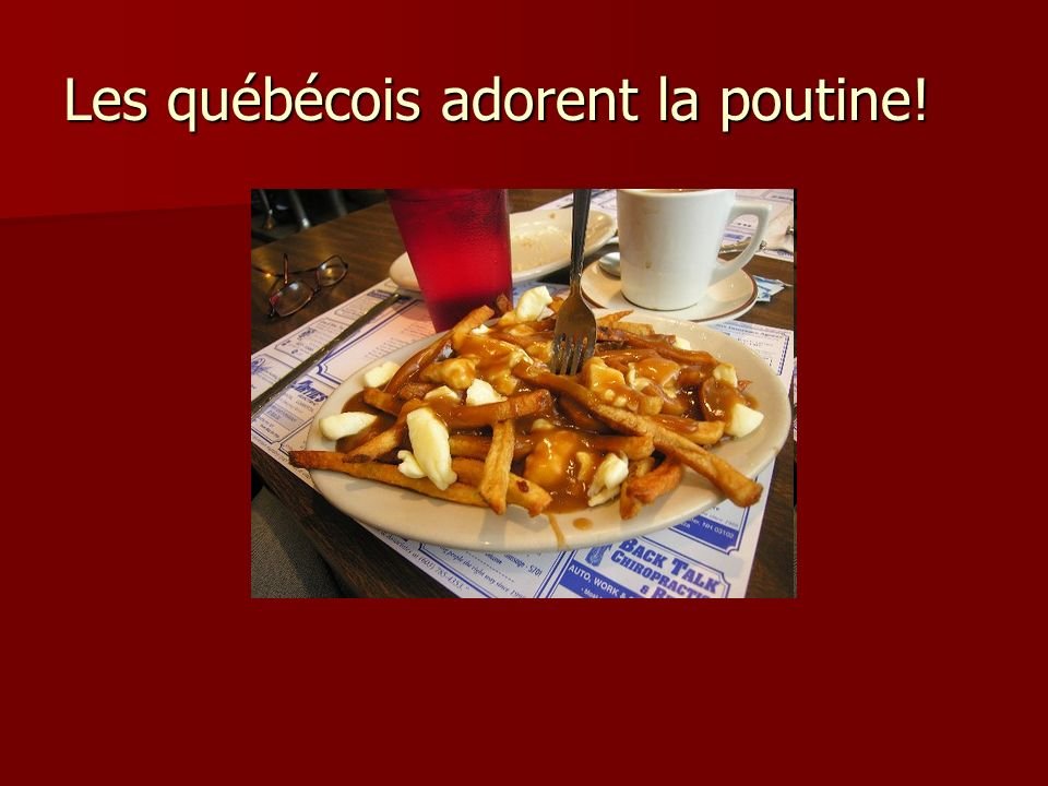 Bibliographie Sites: Poutine.Wikipedia. November 16, 2008.