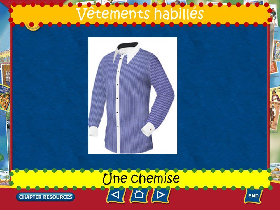 7 Une cravate Vêtements habillés