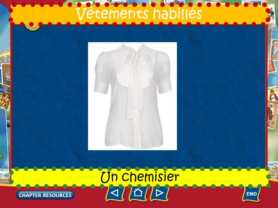 7 Une chemise Vêtements habillés