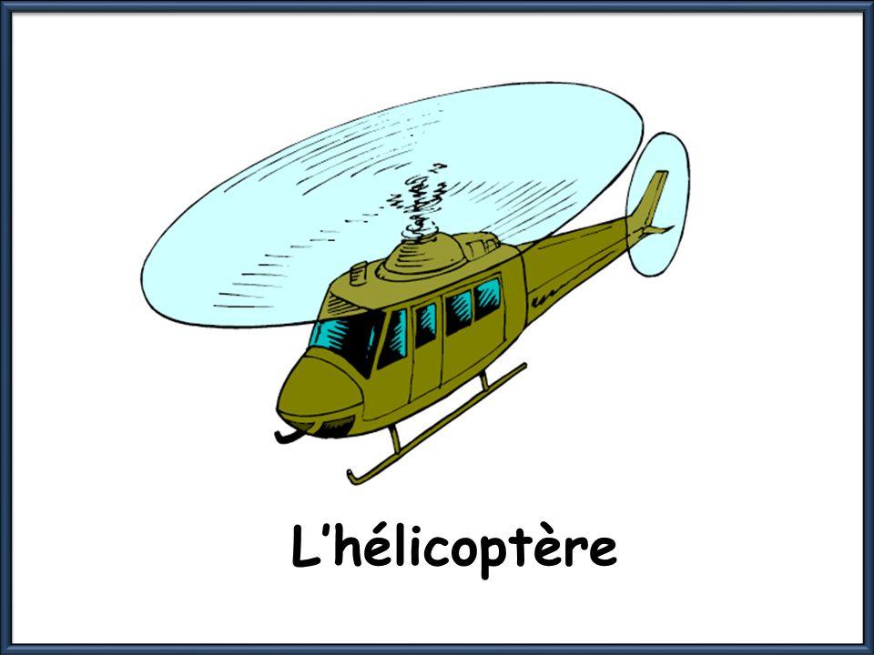 Lhélicoptère