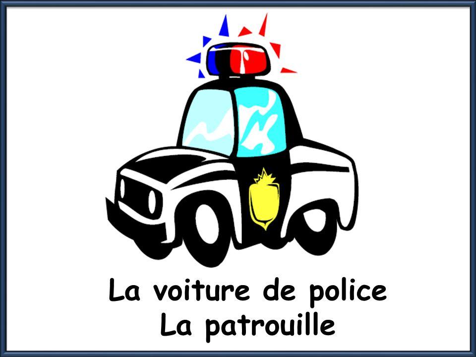 La voiture de police La patrouille