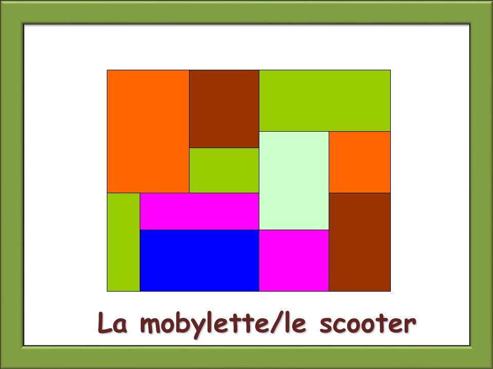 La mobylette/le scooter