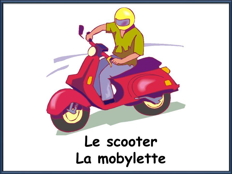 Le scooter La mobylette