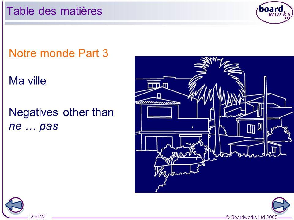 © Boardworks Ltd 2005 3 of 22 Jhabite à Cannes.