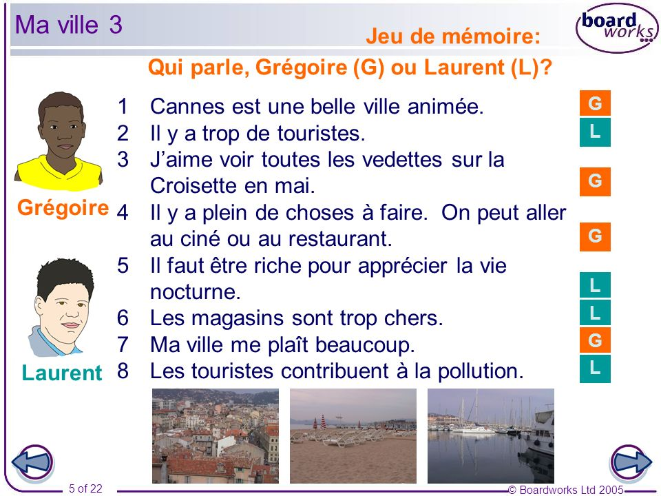 © Boardworks Ltd 2005 6 of 22 GRAMMAR Negatives other than ne … pas You have already learnt about two different negative expressions.