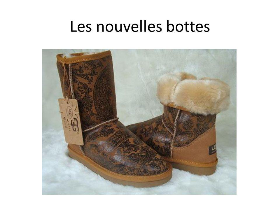 Les nouvelles bottes