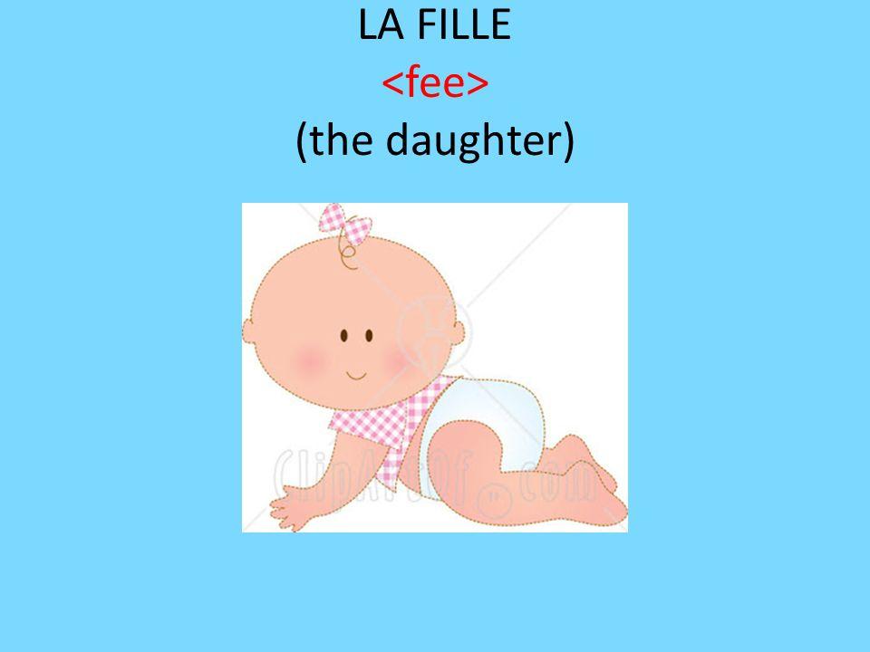 LA FILLE (the daughter)