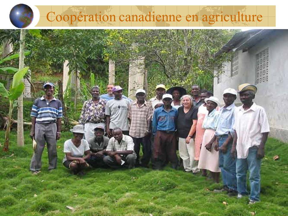 Coopération canadienne en agriculture