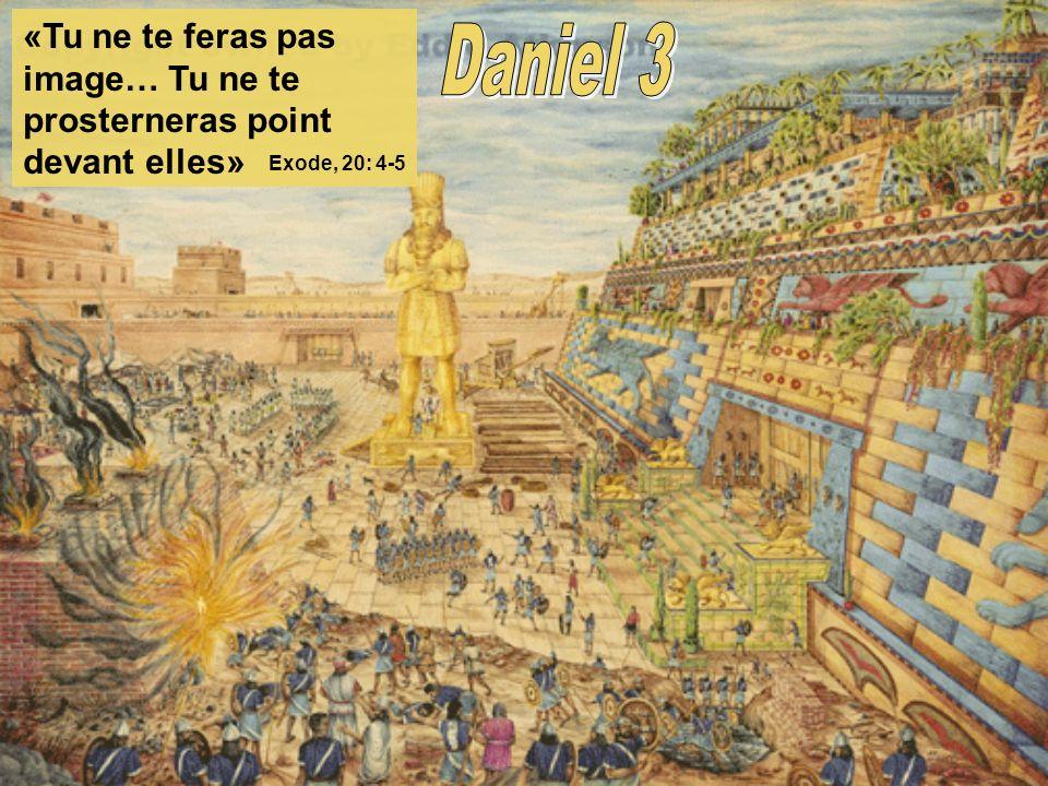 «Tu ne te feras pas image… Tu ne te prosterneras point devant elles» Exode, 20: 4-5