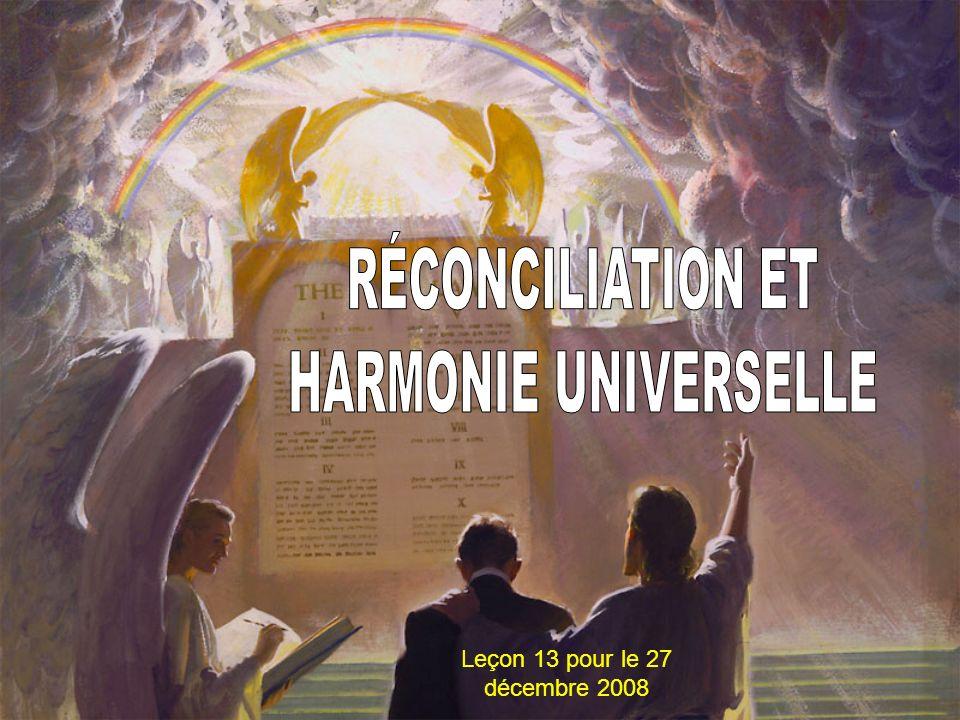 Leçon 13 pour le 27 décembre 2008