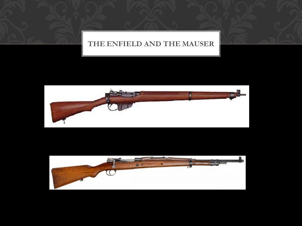 Le Mosin était une carabine plus lourde.Il tirait une cartouche de 7.62x54.