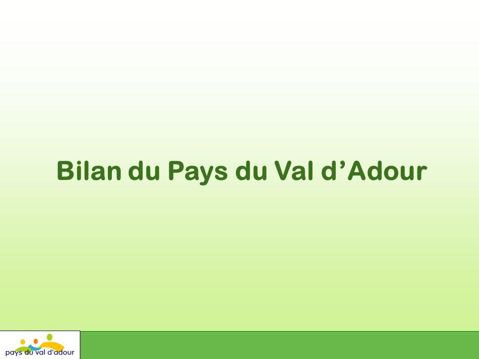 Bilan du Pays du Val dAdour