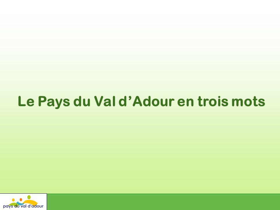 Le Pays du Val dAdour en trois mots