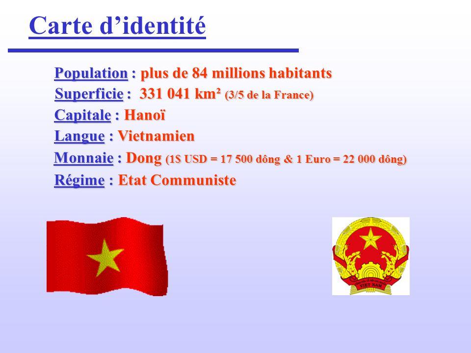 Un peu dhistoire L histoire du Viêtnam est une histoire mouvementée, qui peut se résumer en une phrase « un peuple qui a cherché à se défendre .