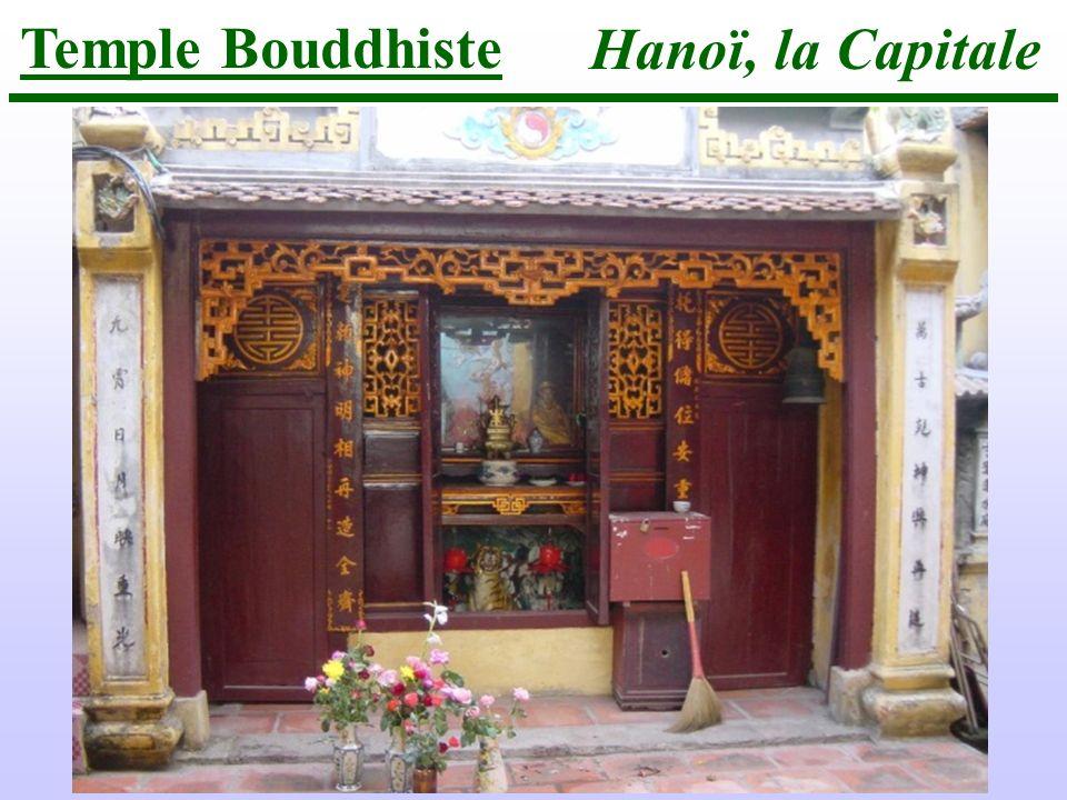 Hanoï, la Capitale Temple Bouddhiste