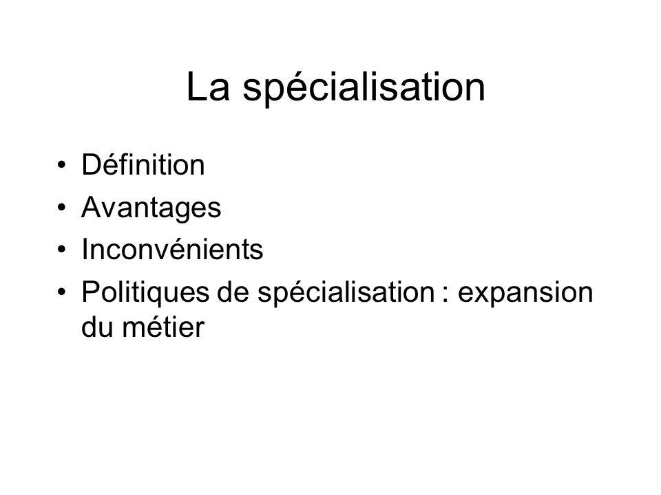 Motifs de la diversification (2) Diversification et synergie I.Ansoff = 2 +2 = 5
