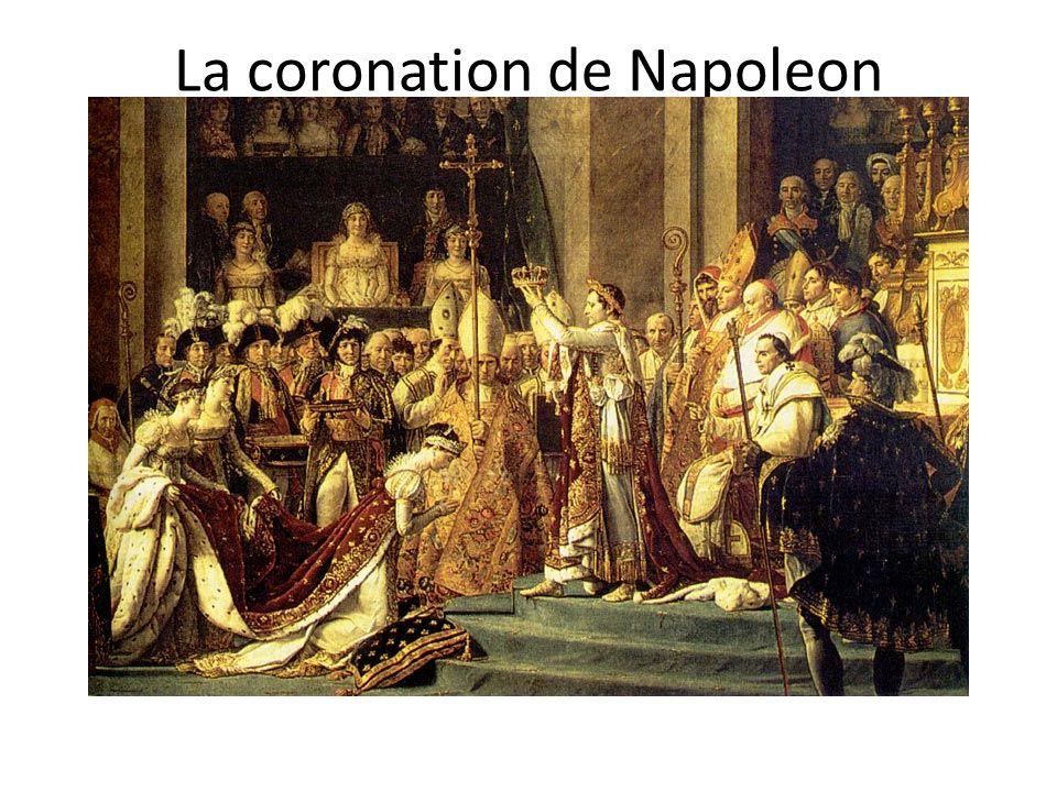 La coronation de Napoleon