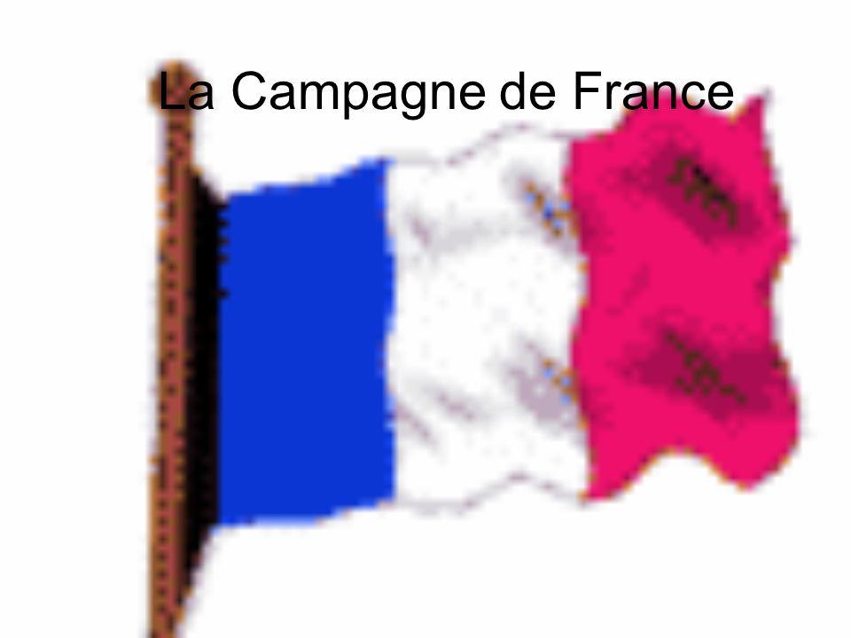 La Campagne de France