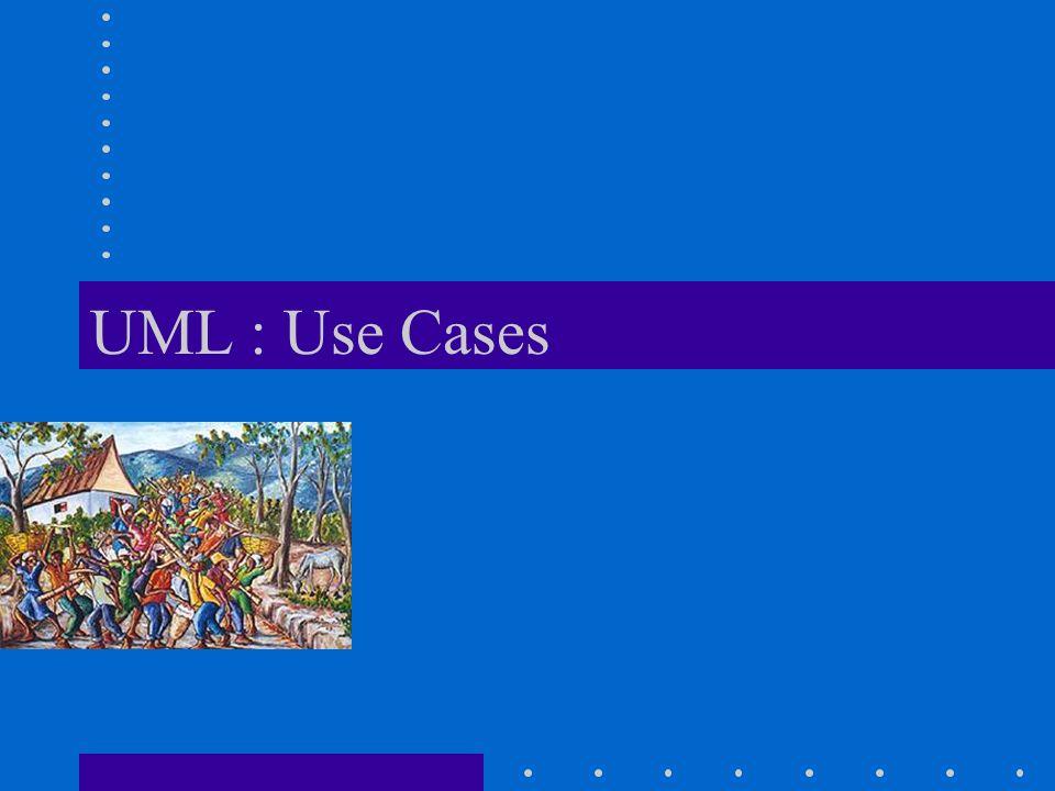 UML : Use Cases