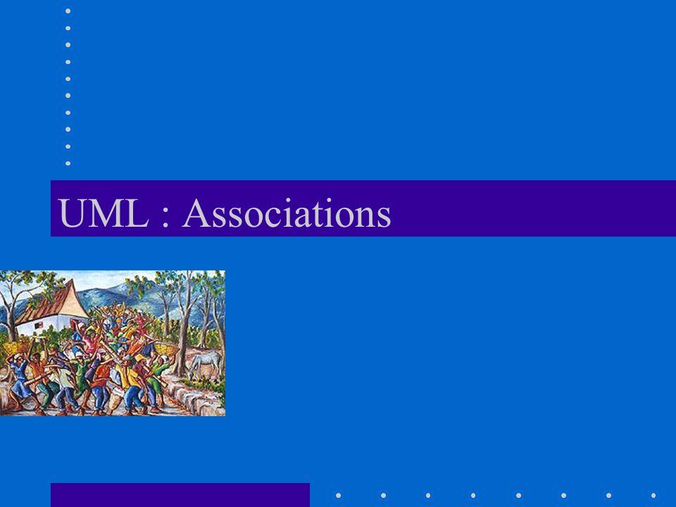 UML : Associations