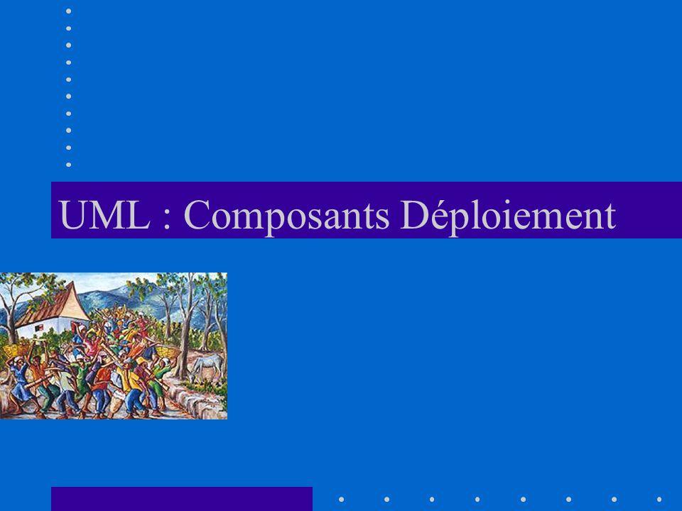 UML : Composants Déploiement