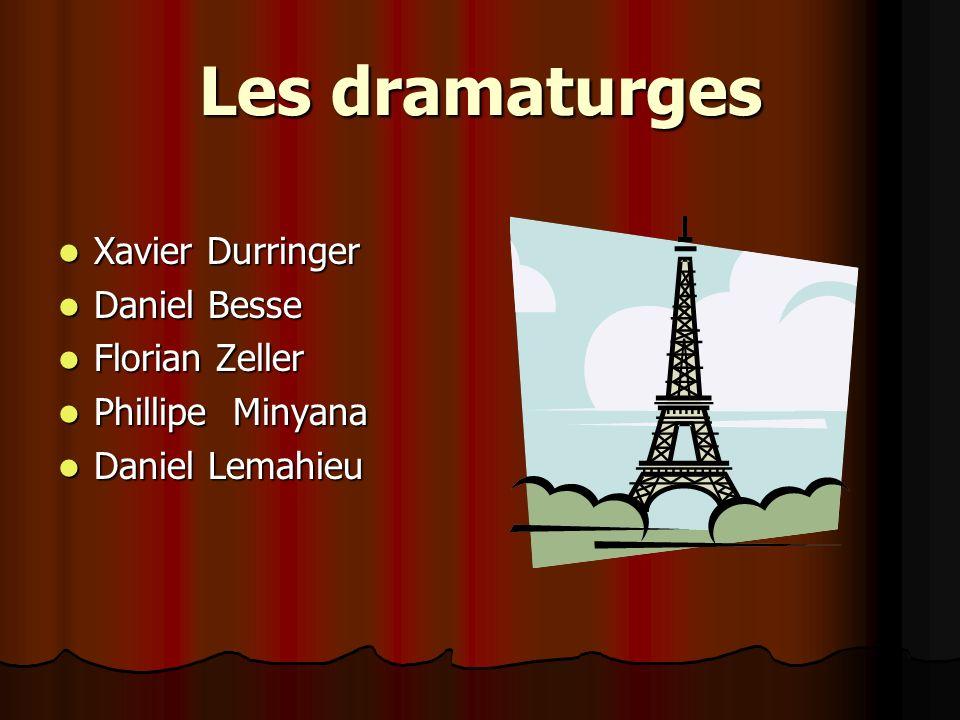 Phillipe Minyana il est né en 1946 à Besançon il est né en 1946 à Besançon il est le plus joué dramaturge en France il est le plus joué dramaturge en France il est joué dans le Théâtre National á Dijon il est joué dans le Théâtre National á Dijon