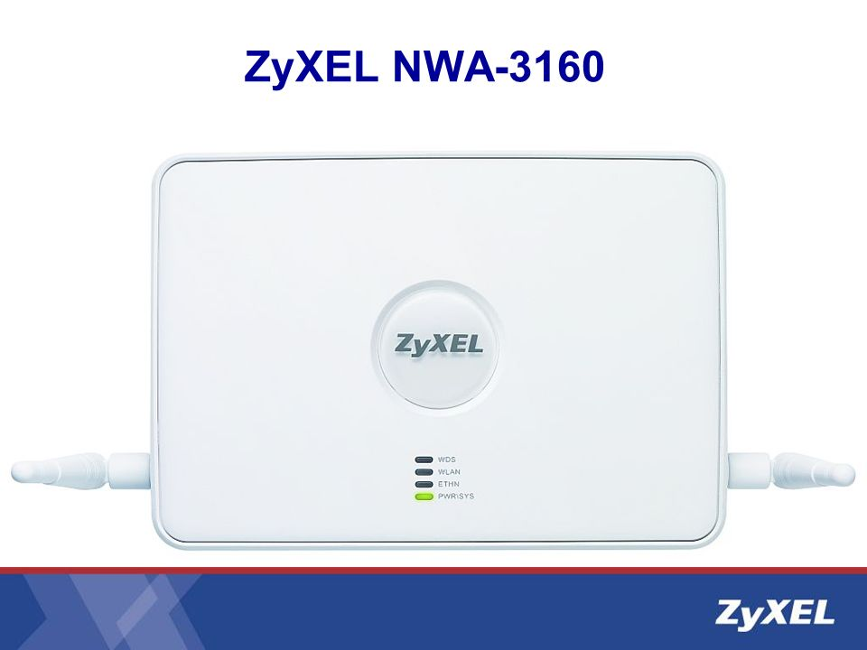 ZyXEL NWA-3160