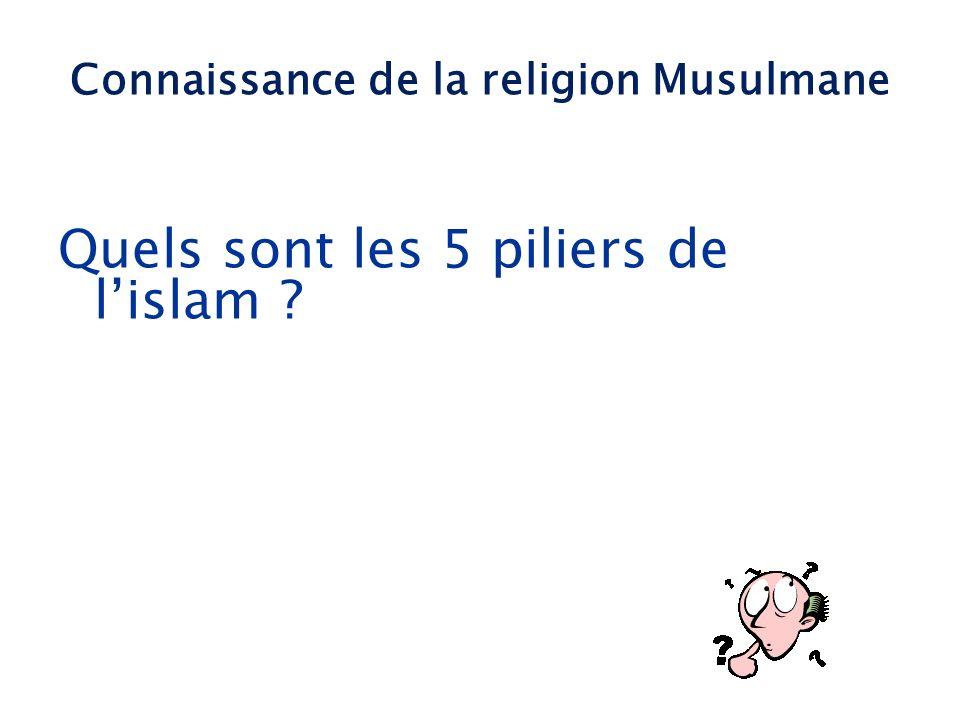 Quels sont les 5 piliers de lislam ? Connaissance de la religion Musulmane