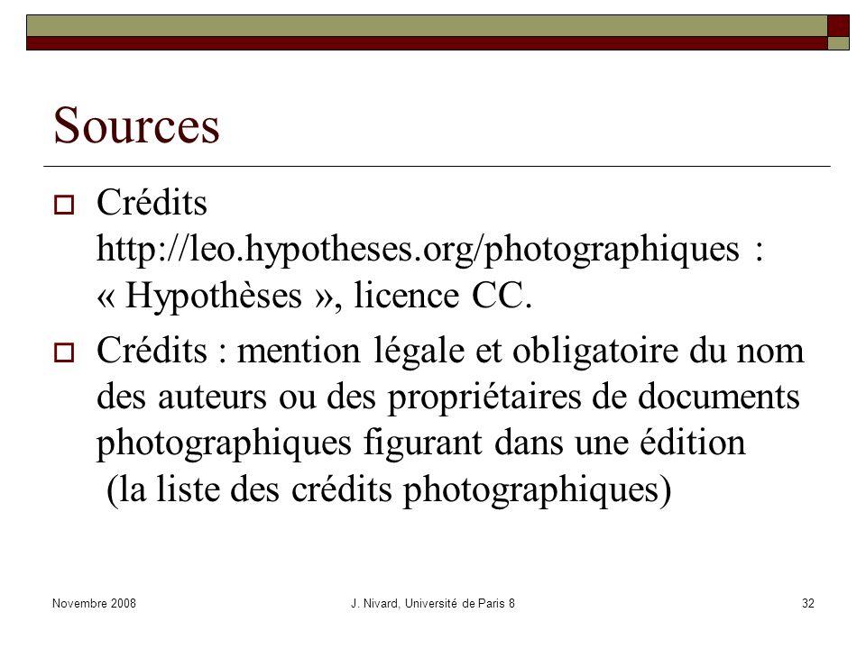 Sources Crédits http://leo.hypotheses.org/photographiques : « Hypothèses », licence CC.