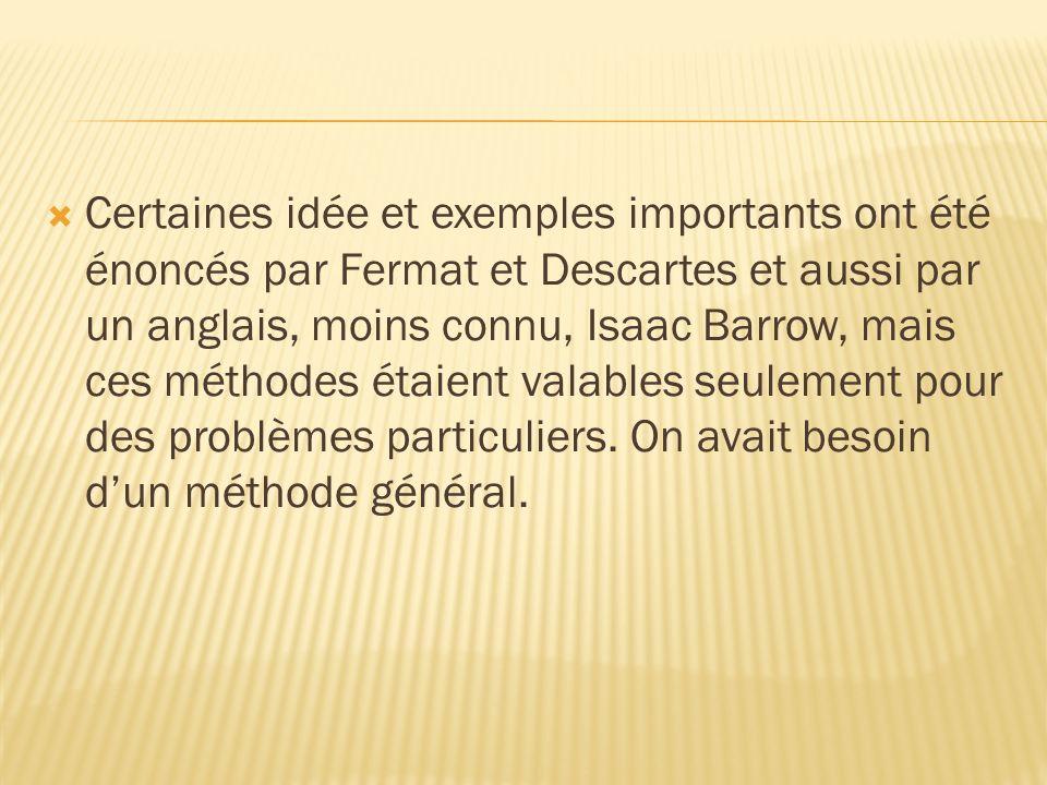 Lanalyse mathématique a deux branches principales: 1.Le calcul différentiel 2.Le calcul intégral