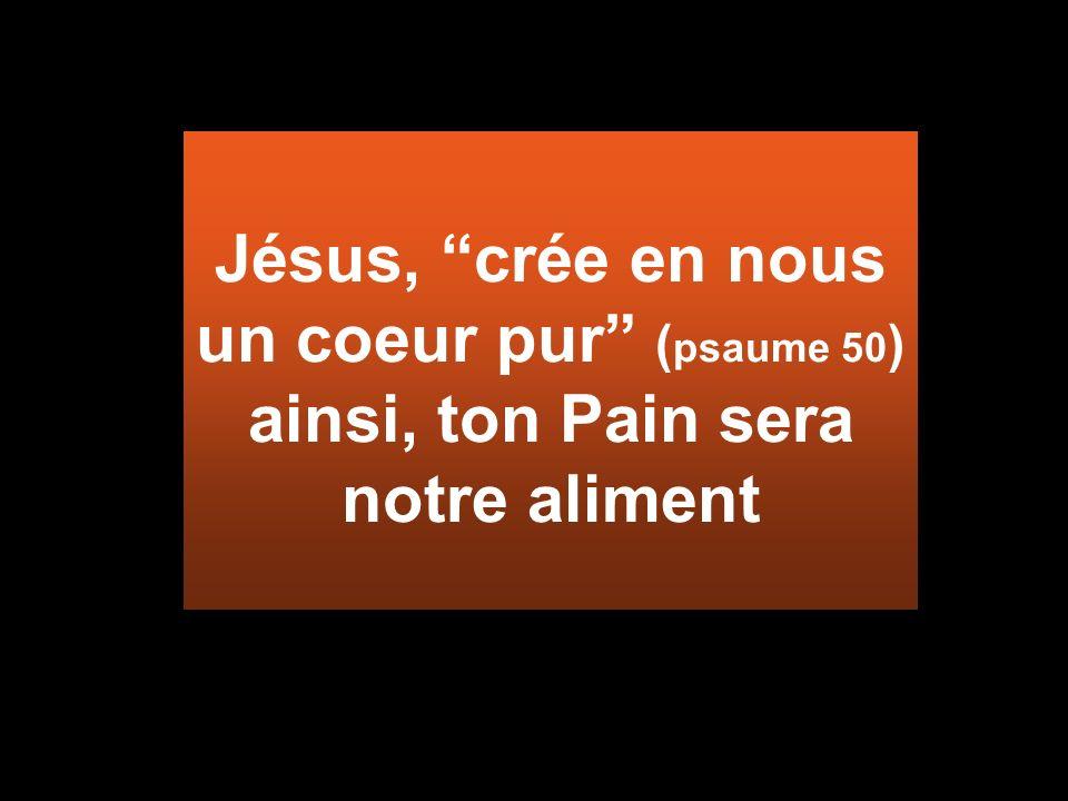 Dépassez le mal par labondance du bien (Rom12,21) Mon PAIN demande la propreté intérieure