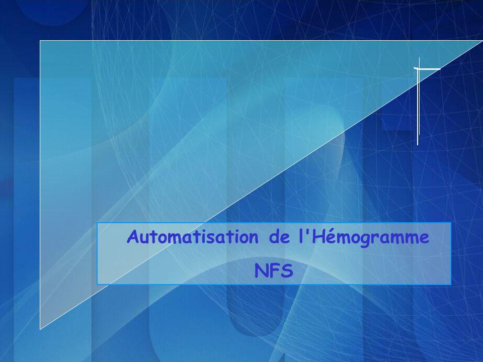 Automatisation de l'Hémogramme NFS