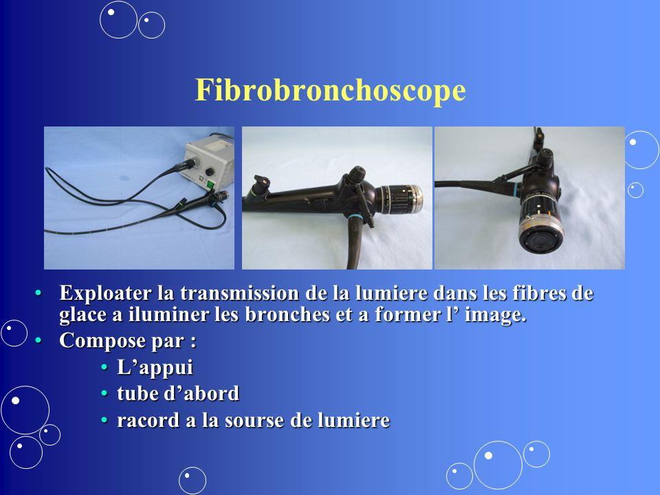 Inspection directe avec le toracoscope Toracoscopie video asistee