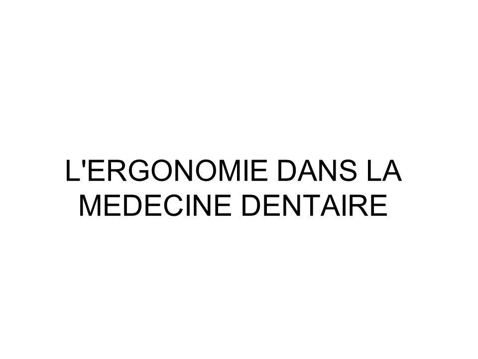 La conception (la projection) - la deuxième direction dans lergonomie dentaire fait référence à létape de conception (projection).