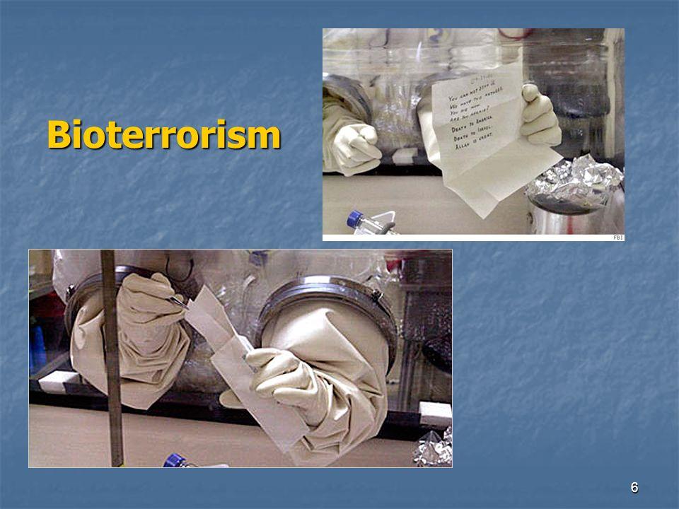 6 Bioterrorism