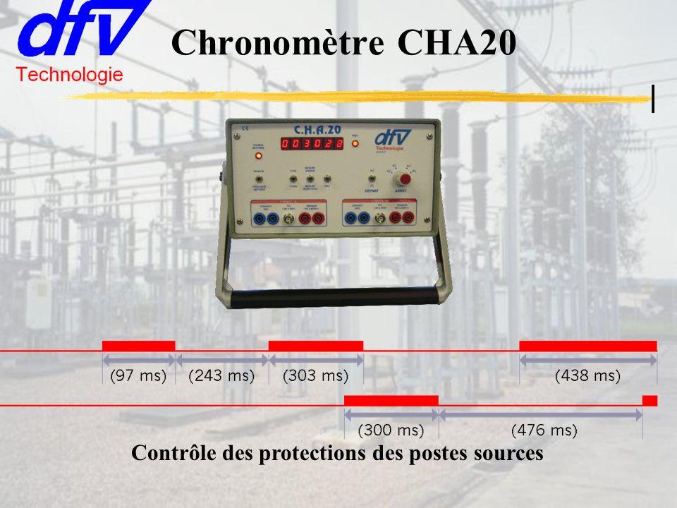 Chronomètre CHA20 Contrôle des protections des postes sources