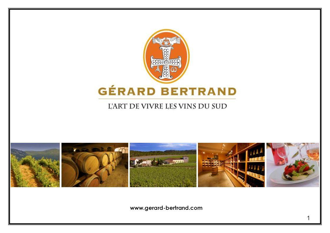 2 Un esprit de pionnier hérité de son père Georges Gérard Bertrand a reçu la passion du vin et lamour de la terre languedocienne de son père Georges, un pionnier en matière de vinification et délevage, qui avait réussi à fédérer des vignerons sur le chemin de la qualité dans les années 1970.