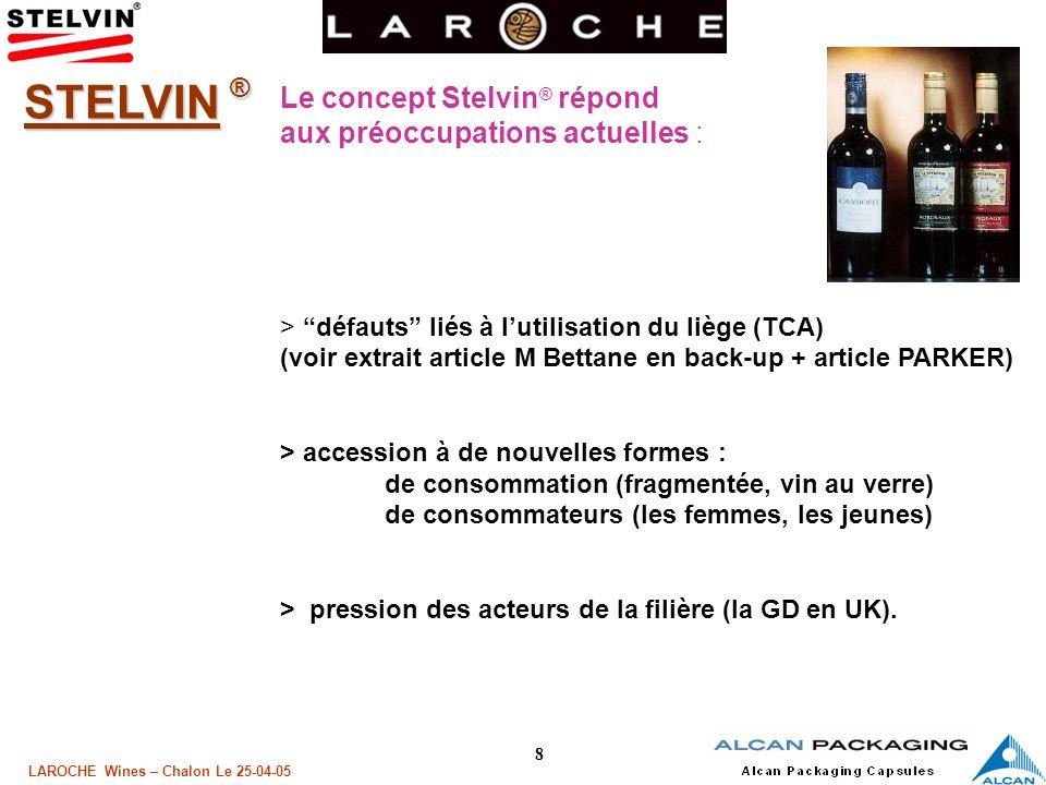 9 LAROCHE Wines – Chalon Le 25-04-05 Quen dit la Presse .