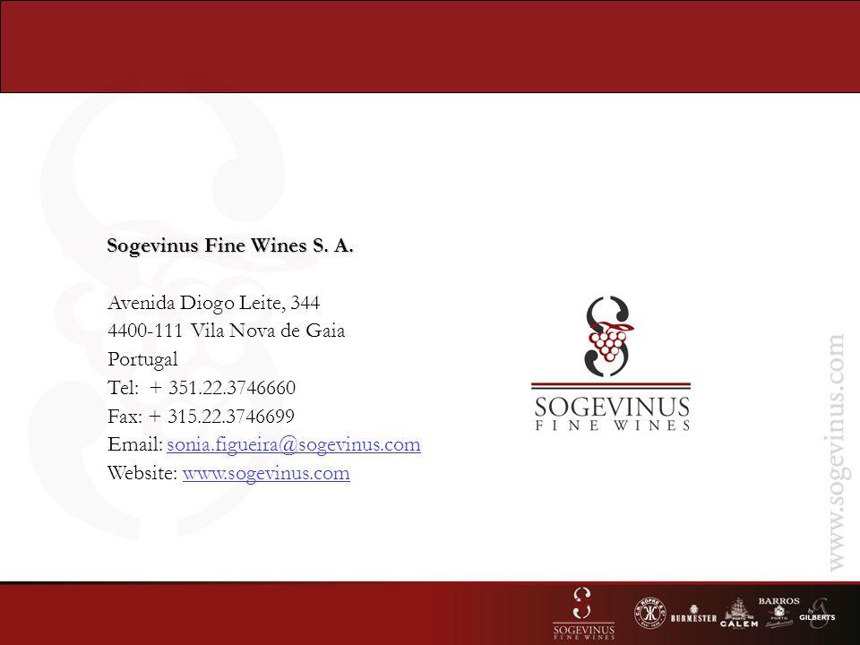 Sogevinus Fine Wines S. A.